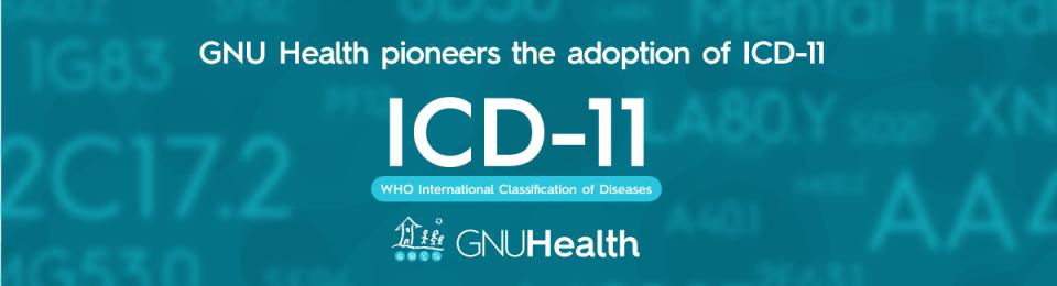 GNU Health WHO ICD11